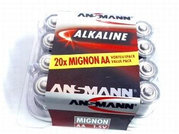 4 pack mignon (AA) batterij