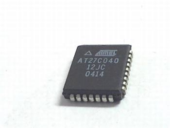 AT27C040-12JC PLCC32