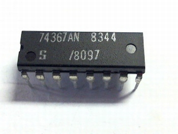 74367AN Hex buffer/line driver; 3-state; non-inverting