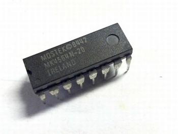 4564N-20 DRAM