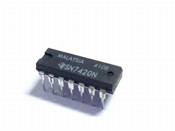 7420 DUAL 4-INPUT POSITIVE-NAND GATES