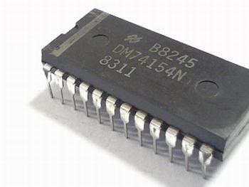 SN74154N 4-Line To 16-Line Decoders/Demultiplexers