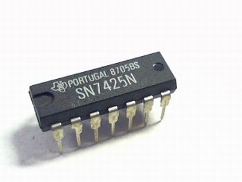 7425 Dual 4-input NOR gate with strobe