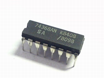 74368 Hex Buffer/Line Driver; Inverting (3-State)