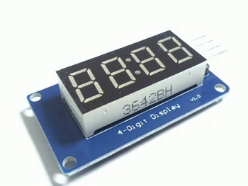 4 bits TM1637 LED display module