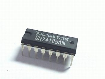 74185 BCD-to-Binary and Binary-to-BCD Converter