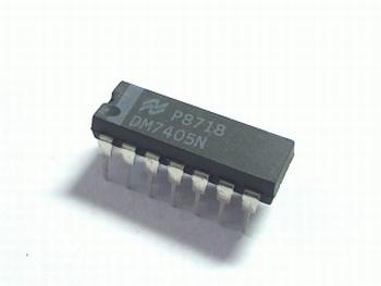 7405 Hex Inverter (Open Collector)