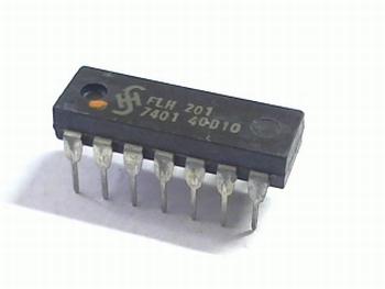 7401 Quad 2-Input NAND Gate O.C.