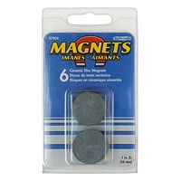 6 round magnets
