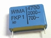 Capacitor FKP1 4700pF 20% 2000V