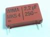 Capacitor  MKS4 2,2uF 20% 250V