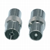 Coax coupler male to female