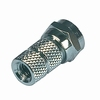 F connector, screw version  4.5 mm