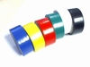 Assortment of 6 rolls of PVC tape