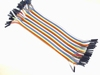 Female To Female Dupont Wire Jumper Cable 40pcs 20cm