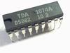 TDA1074A Dual tandem electronic potentiometer circuit