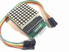 Dot Matrix Display Module opgebouwd met MAX7219