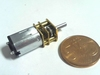 Mini motor met vertraging 600 rpm 12 volt