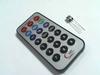 IR remote control with IR receiver