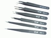Antistatic Tweezer set 6 pcs