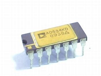 AD534KD analog multiplier /divider 20v/s 4 bit