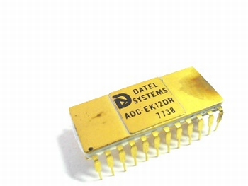ADC-EK12DR monolitisch integrated  AD converter 10 BIT