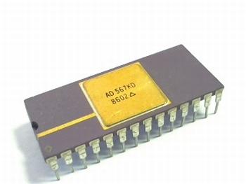 AD567KD DAC 12 bit mono