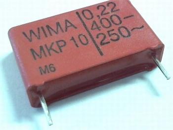 Condensator MKP10 0,22uF  / 220nF  400V