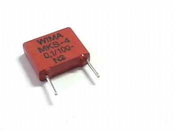 Condensator MKS4 0,1uF / 100nF 5% 100V