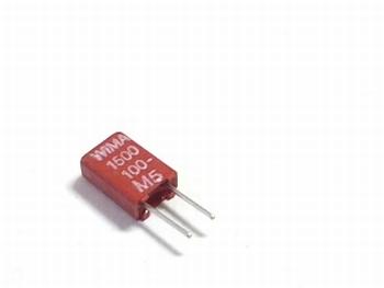 Capacitor MKS02 1500pF 20% 100V