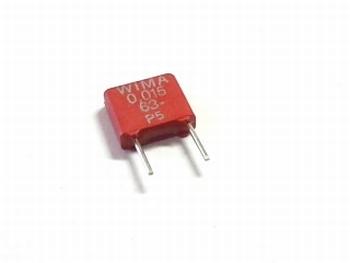 Capacitor MKS2 0,15uF / 150nF 10% 63V