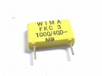 Capacitor  FKC3 1000pF 20% 400V