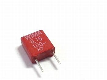 Capacitor MKS2 0,15uF 5% 100V
