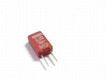 Capacitor MKS02 0,22uF 20% 50V