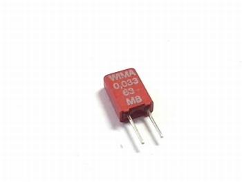 Capacitor MKS02 0,033uF 20% 63V