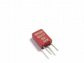 Condensator MKS02 6800pF 20% 63V