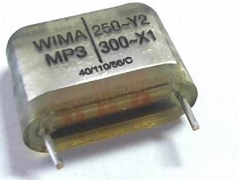 Condensator MP3Y2 0,022uF  / 22nF 20% 250V