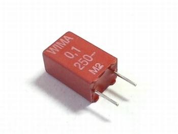 Capacitor MKS2 0,1uF 10% 250V