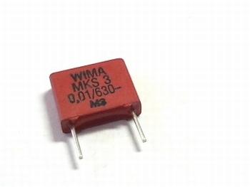 Condensator MKS3 0,01uF / 10nF 5% 630V