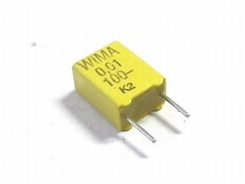Capacitor FKC2 0,01uF 20% 100V