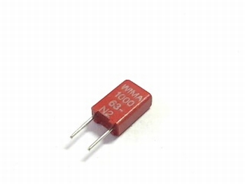 Condensator MKS02 1000pF 20% 63V
