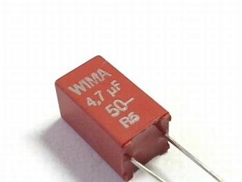 Capacitor  MKS2 4,7uF 10% 50V