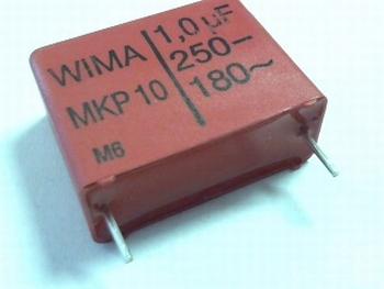 Capacitor MKP10 1uF 5% 250V