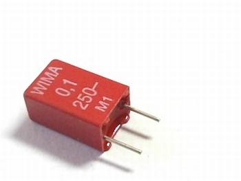 Capacitor MKS2 0,1uF / 100nF 10% 250V