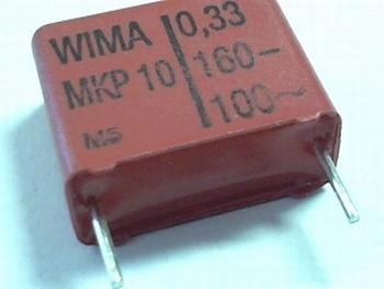 Condensator MKP10 0,33uF  / 330nF  20% 160V