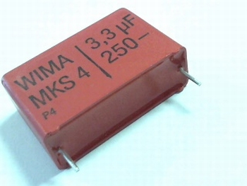 Capacitor MKS4 3,3uF 20% 250V