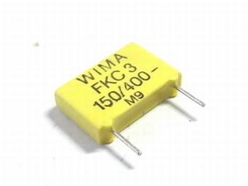 Condensator FKC3 150pF 20% 400V