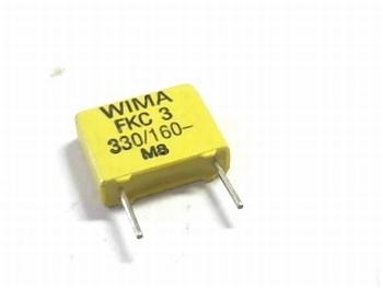 Capacitor FKC3 330pF 20% 160V