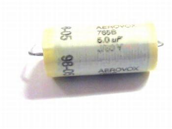 AEROVOX capacitor 5uF 80 volt