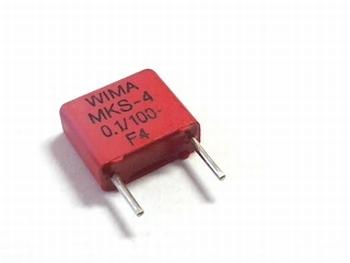 Capacitor MKS4 0.1UF 5% 100V